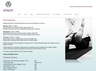 Vitality Therapies